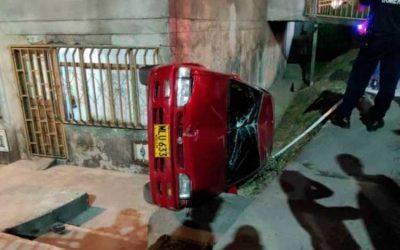 Aparatoso accidente en Armenia