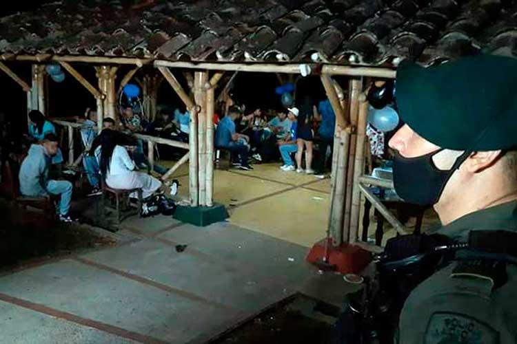 Autoridades aumentan controles para evitar fiestas clandestinas en el Quindío