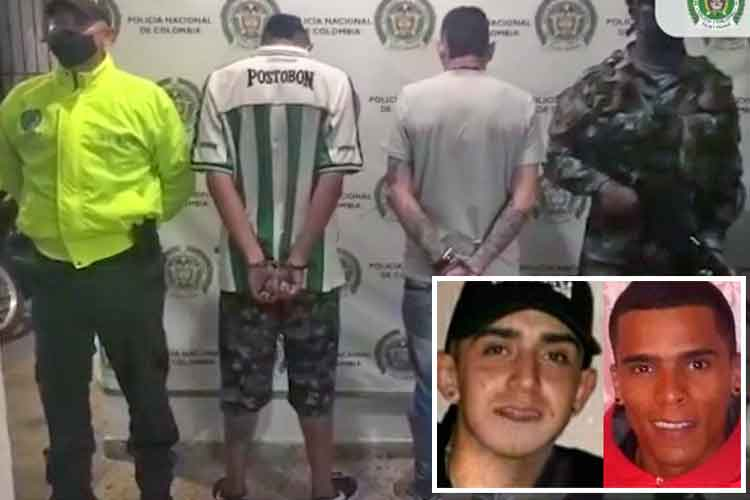 Capturados Montenegro primos doble homicidio Goretti
