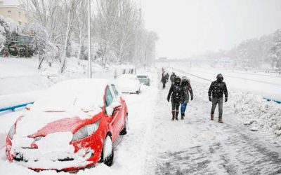 Colombiana murió en medio de las nevadas en España