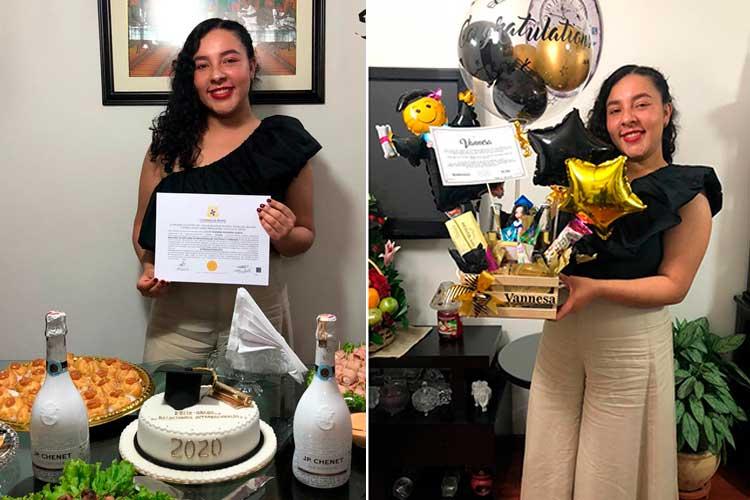 Felicitaciones a la nueva Internacionalista July Vannesa Sanabria Garcia