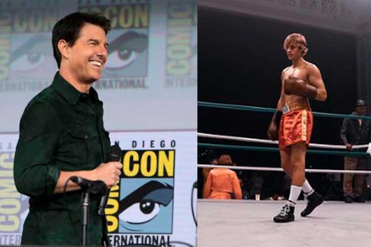 Justin Bieber reta a Tom Cruise a pelea de boxeo