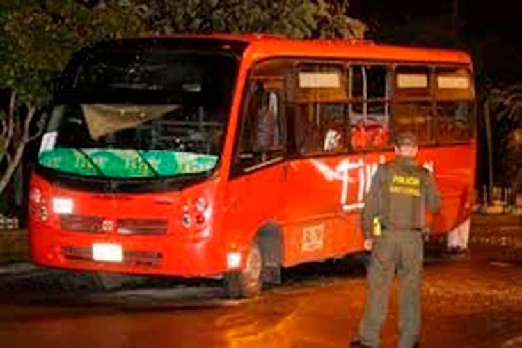 Mujer asesinada bus Armenia