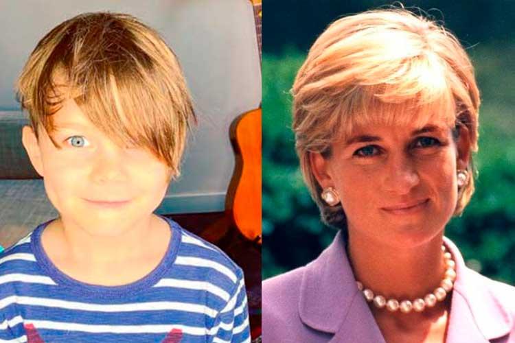 Niño de 5 años asegura ser la reencarnación de la princesa Diana