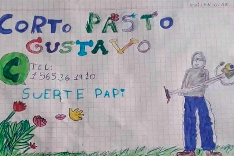 Papá-consiguió-trabajo-gracias-a-tierno-dibujo-de-su-hija