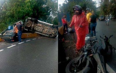 Murió motociclista que había resultado gravemente herido en accidente vía La Línea