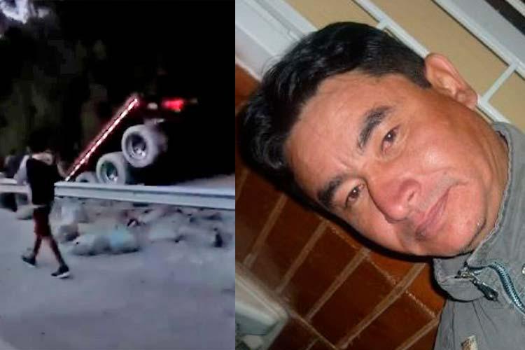 Un muerto dos heridos accidente tractomula La Línea