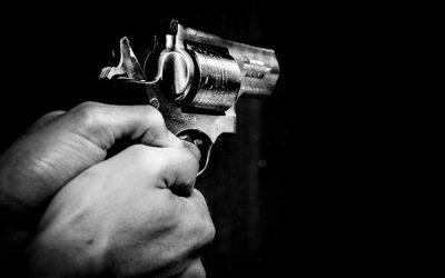 A la víctima la atacaron a bala en plena vía pública