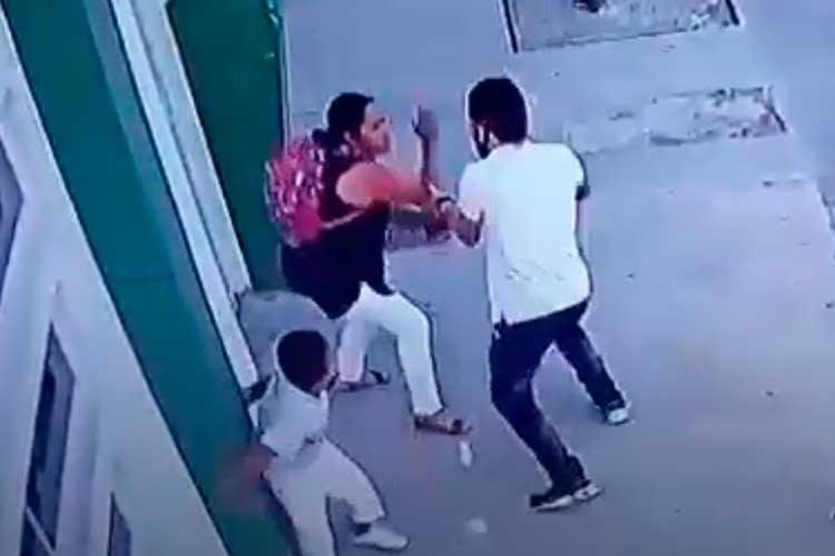 A cuchillo atacó a abuela y su pequeño nieto en La Tebaida y sigue libre