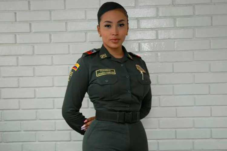 Ella es la primera mujer trans en la Policía Nacional de Colombia