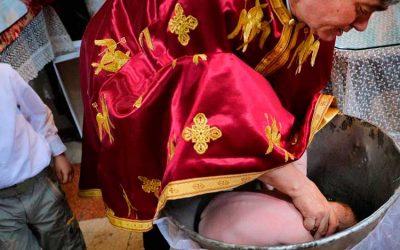 Bebé murió en ceremonia de bautizo