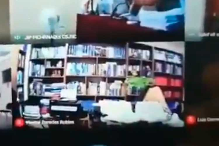 En video: Abogado quedó grabado teniendo relaciones sexuales en audiencia virtual