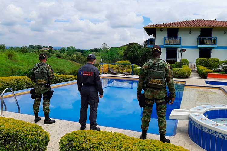 Extinción dominio finca Quimbaya