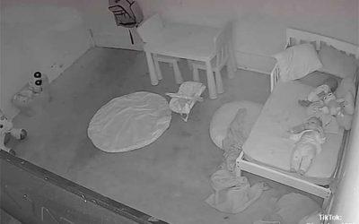 Vídeo: Fantasma arrastra una niña bajo su cama