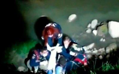 Lanzaron a presunto ladrón a un río en Bogotá