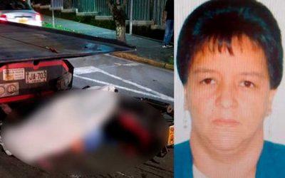 Doña Patricia fue la mujer que murió en accidente en el norte de Armenia