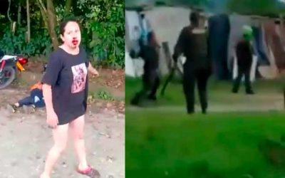 En vídeo: Policías habrían disparado en intento de asonada en Circasia. Hay 11 heridos