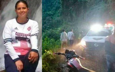 Quindiana embarazada murió al caer a un precipicio en el Tolima
