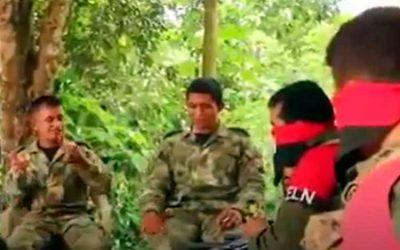 Video: soldado liberado se habría «encariñado» con sus captores del ELN