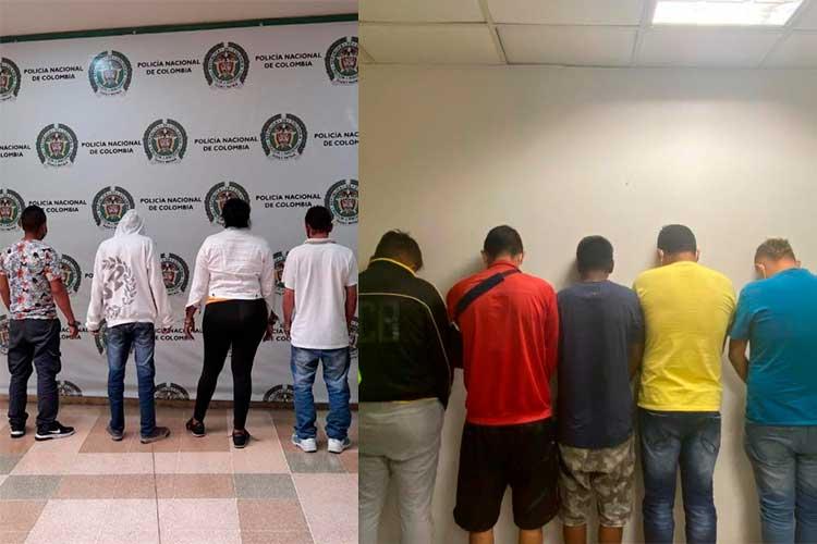 Vídeo: Cayeron 10 miembros de banda 'Los Portales', señalados de fraude financiero desde el Quindío