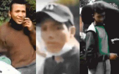 Revelan rostros de sujetos que engañaron a peruano lanzado de un puente