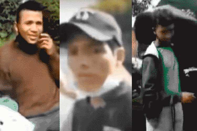 rostros engañaron peruano lanzado puente