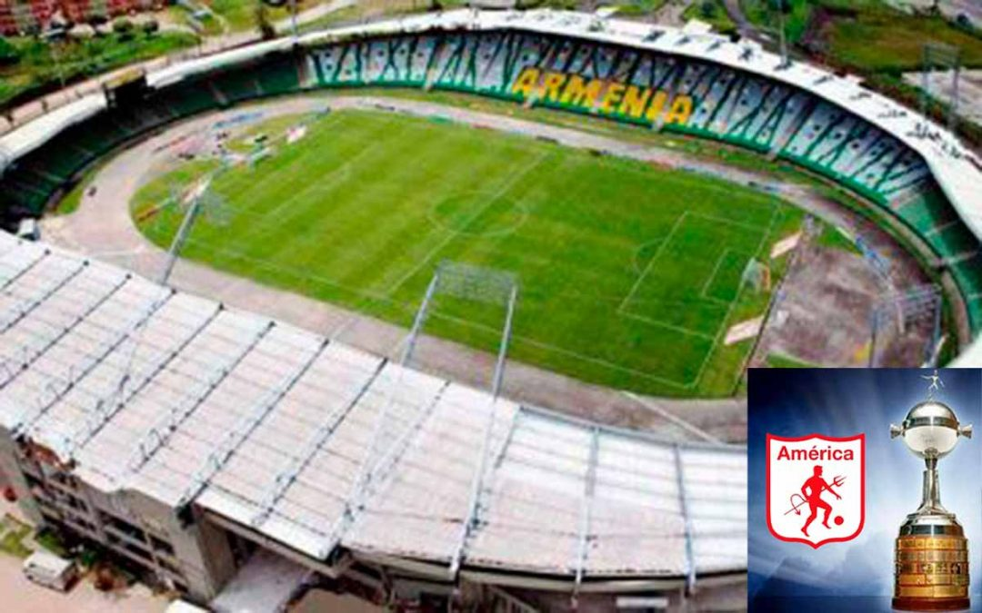 América de Cali pidió el Centenario de Armenia para Libertadores