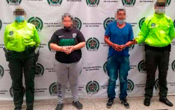 Capturaron pareja señalada de abusar sexualmente de sus 5 hijos