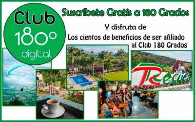 Ya sabes qué es el Club 180 Grados. Inscríbete GRATIS y recibe descuentos y premios