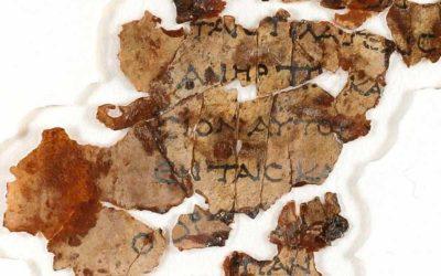 Hallaron manuscritos bíblicos de hace 2.000 años