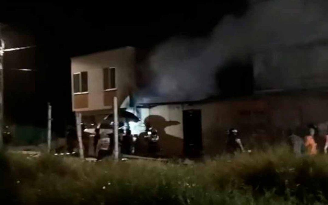 Incendio Villa Yolanda Armenia