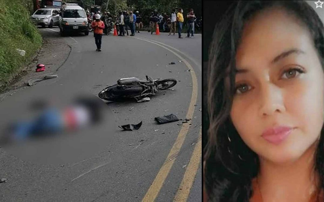 Murió motociclista La Línea