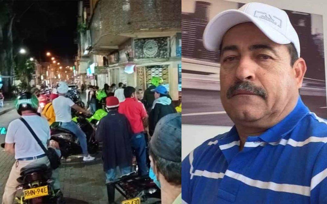 Óscar Masato muerto balacera parque Montenegro