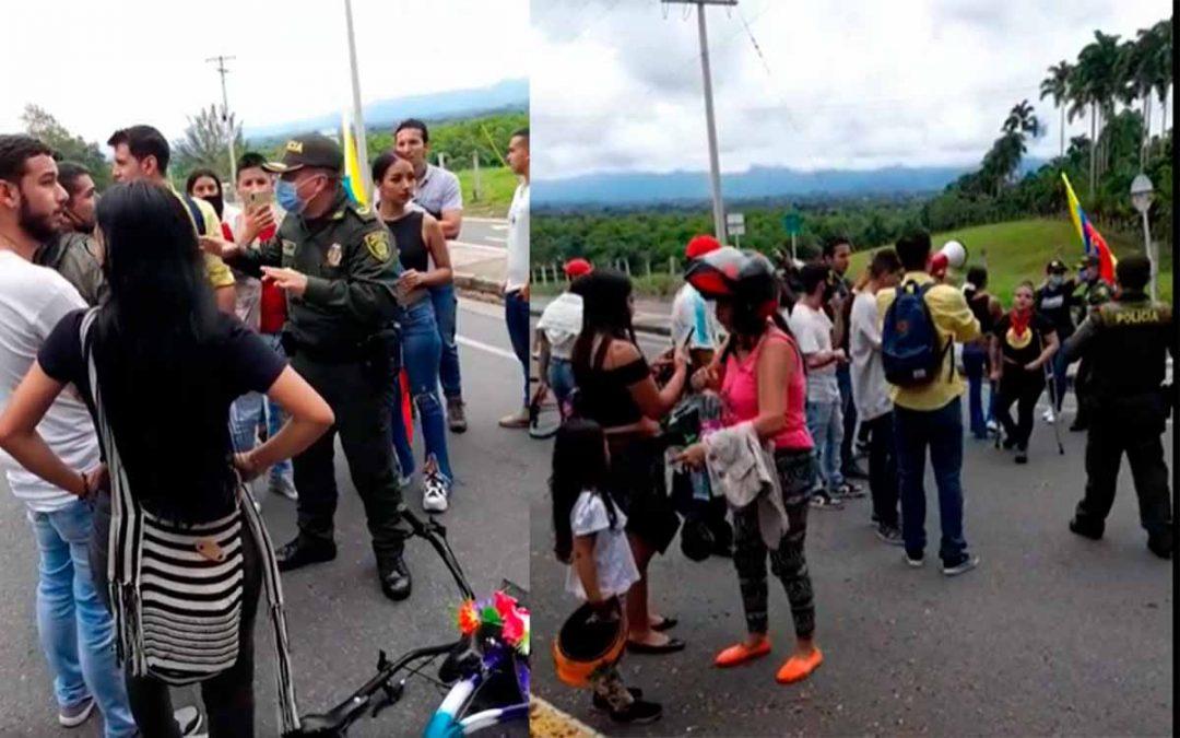 Video: tebaidenses protestaron por tiquete integrado para viajar a Armenia