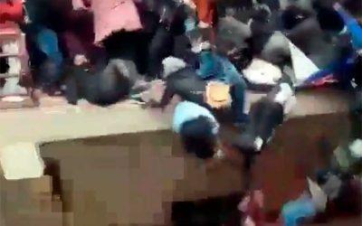 Se conocen más videos de tragedia en Bolivia, en la que estudiantes caen de un cuarto piso