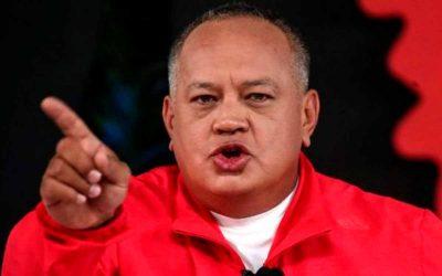 Diosdado Cabello amenaza con guerra en territorio colombiano