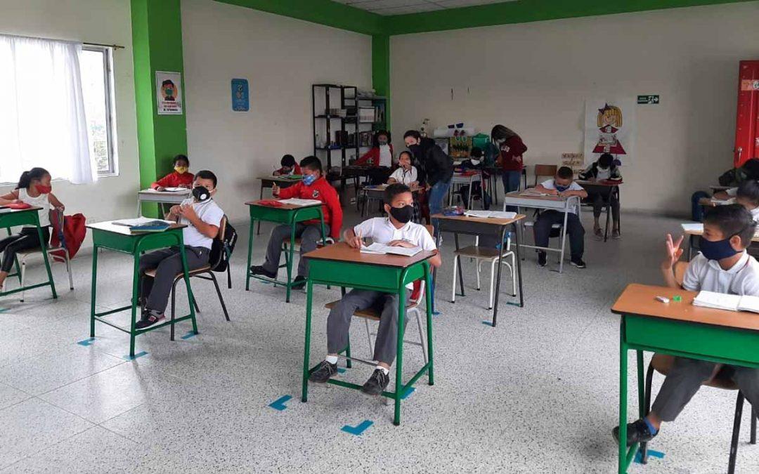 Suspenden alternancia colegios Calarcá