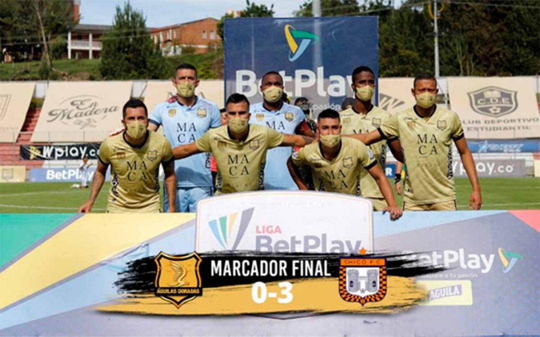 Vergüenza en fútbol colombiano Águilas Chicó