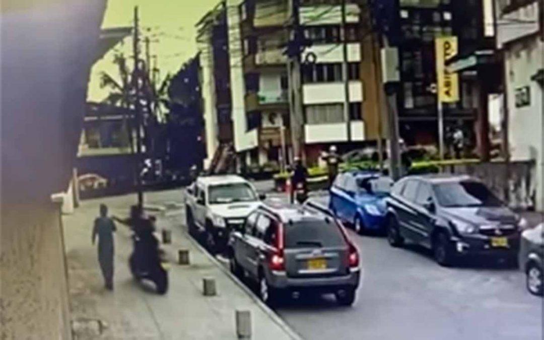 Así le robaron el celular a alto exfuncionario de la alcaldía de Armenia