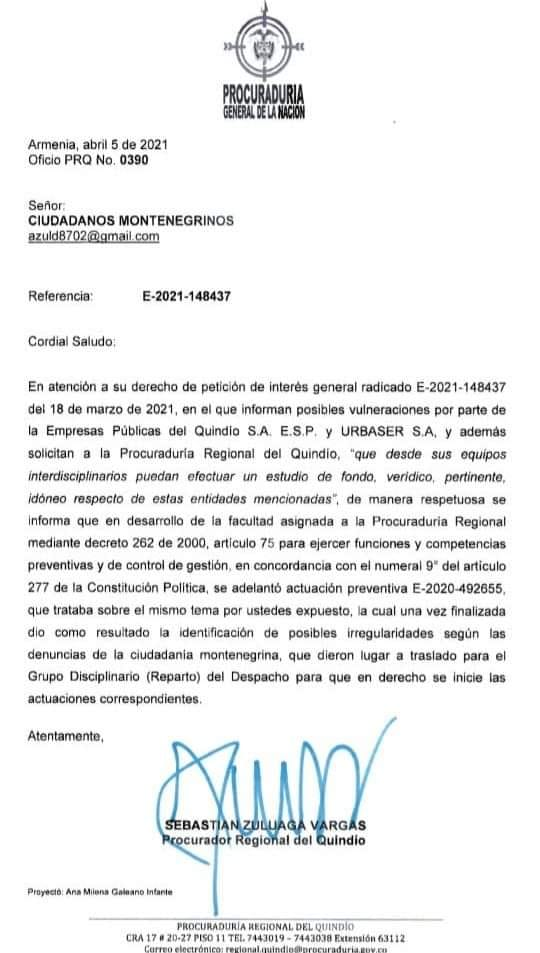 irregularidades tarifas EPQ Urbaser Montenegro