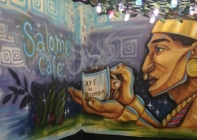 Salomé Coffe Room Café en Quimbaya
