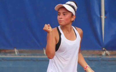 La tenista quindiana Ivana Castillo, campeona del Torneo Guayaquil Bow