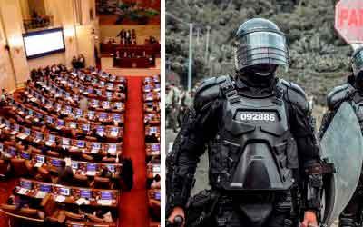 3 proyectos de reforma policial se presentaron en el Congreso