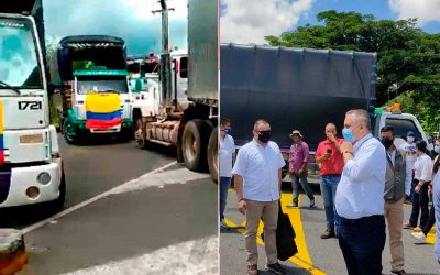 30% de abastecimiento diario de combustible al Quindío, tras acuerdo con camioneros