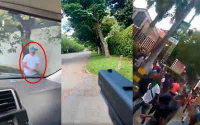 9 indígenas heridos dejó ataque a bala desde vehículos de alta gama contra minga en Cali
