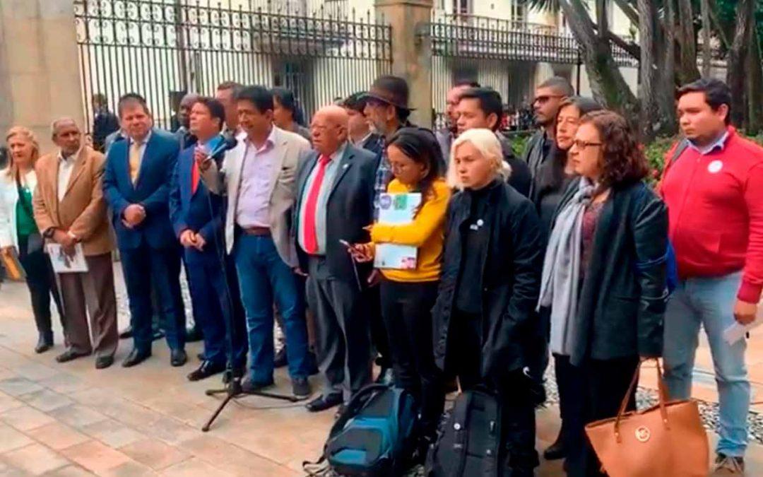 Comité del Paro se reunió con gobierno Nacional