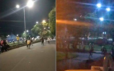 Manifestación pacífica en el estadio Centenario terminó en disturbios tras acción del Esmad
