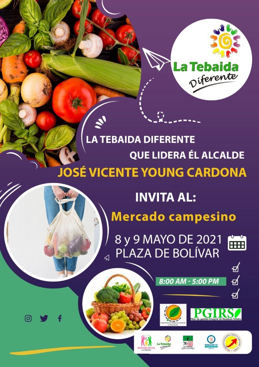 Mercado campesino La Tebaida