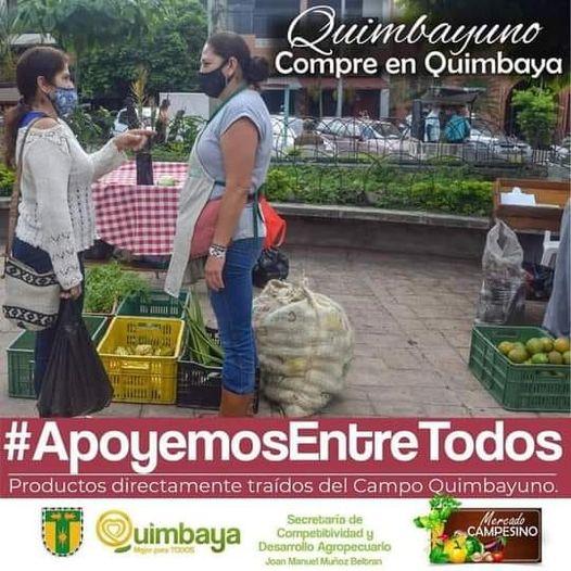 Mercado campesino Quimbaya