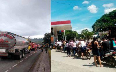 No hay posibilidad de enviar gasolina a diario a los municipios quindianos. Conozca las razones